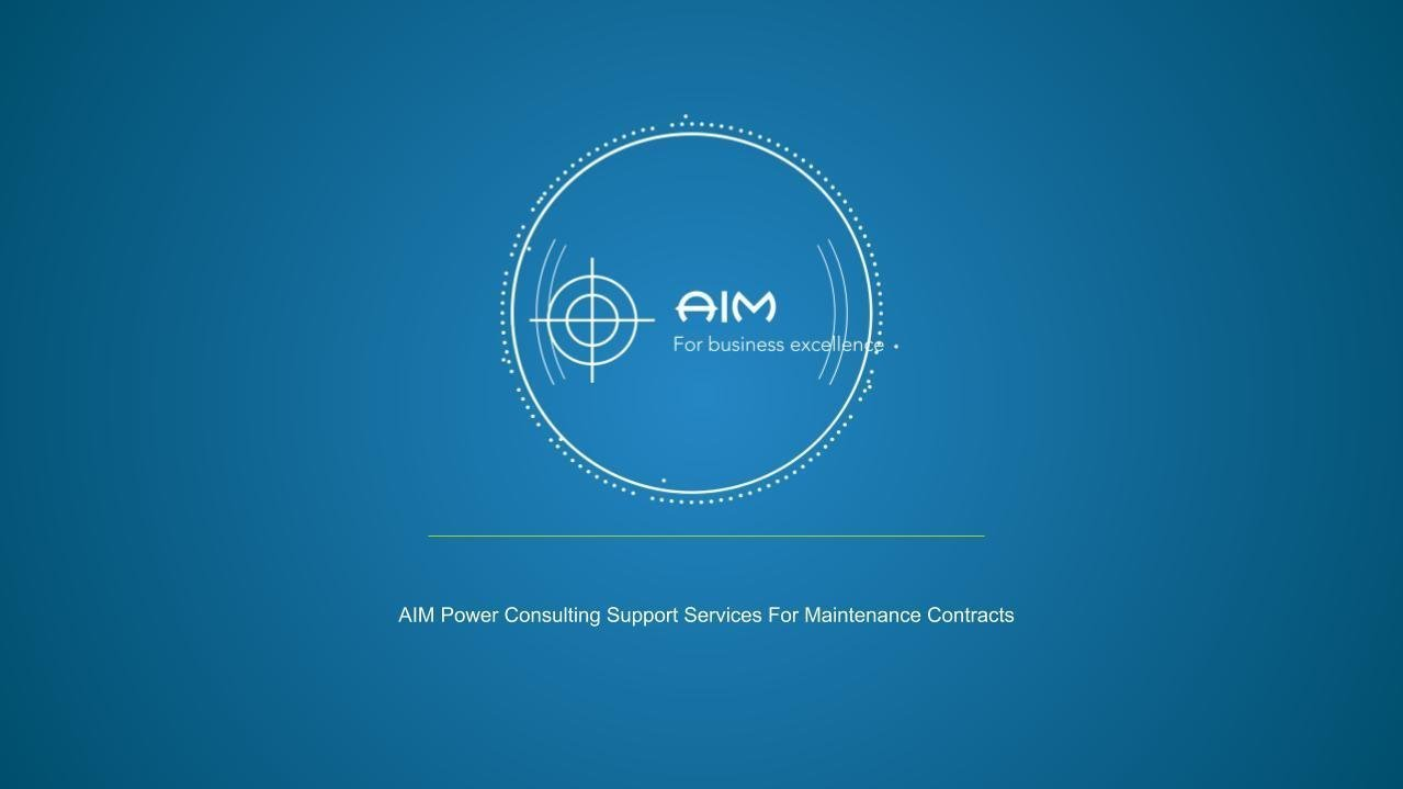 Commercial process for maintenance contracts in power generation