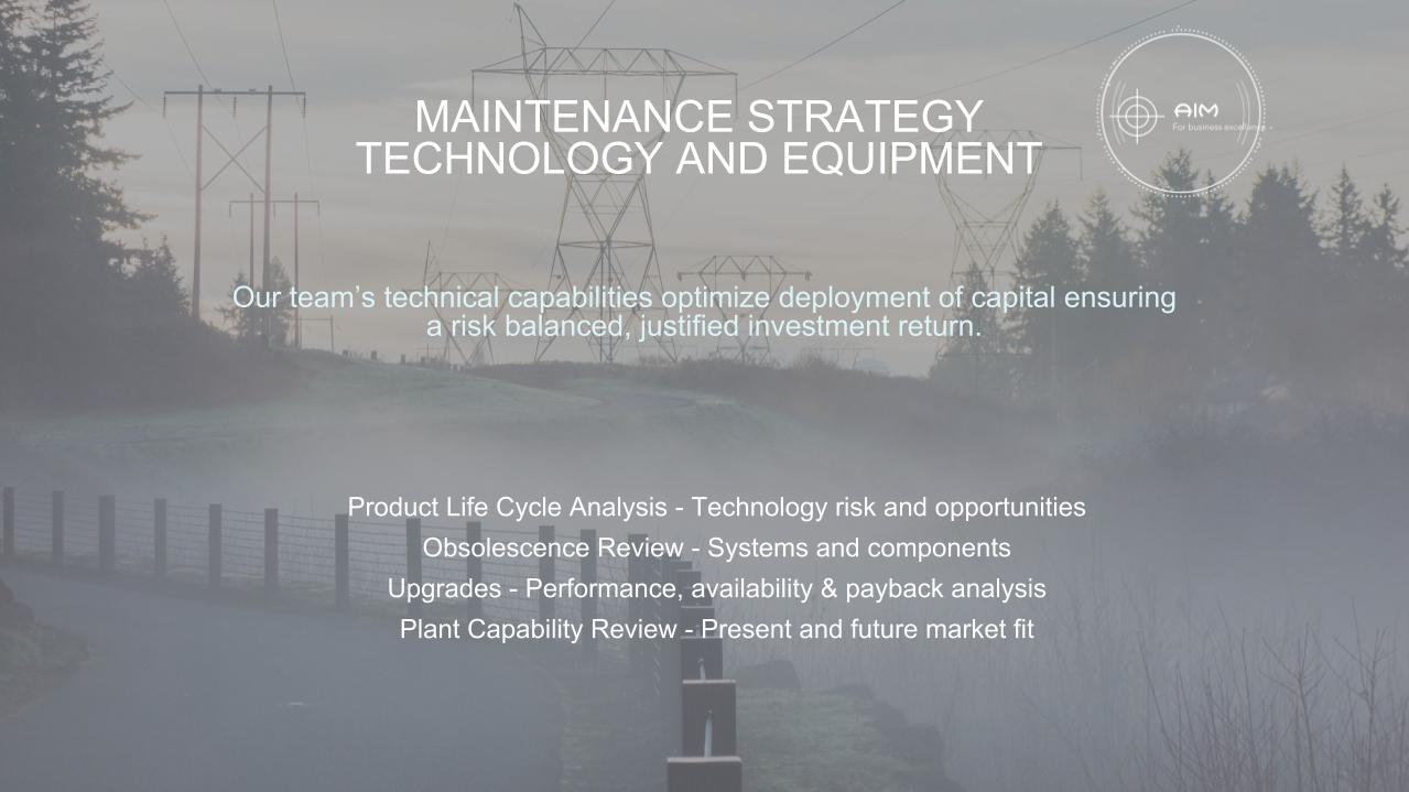 Strategy Technology and Equipment