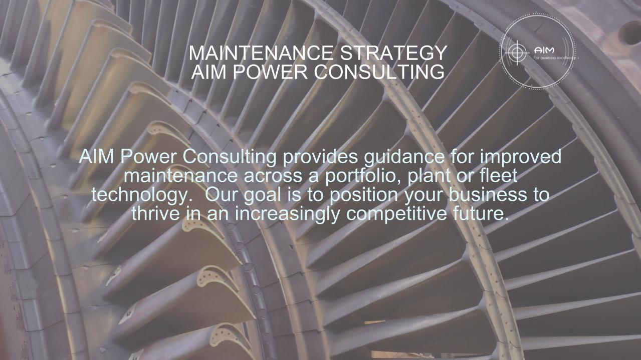 AIM Power Consulting's value proposition