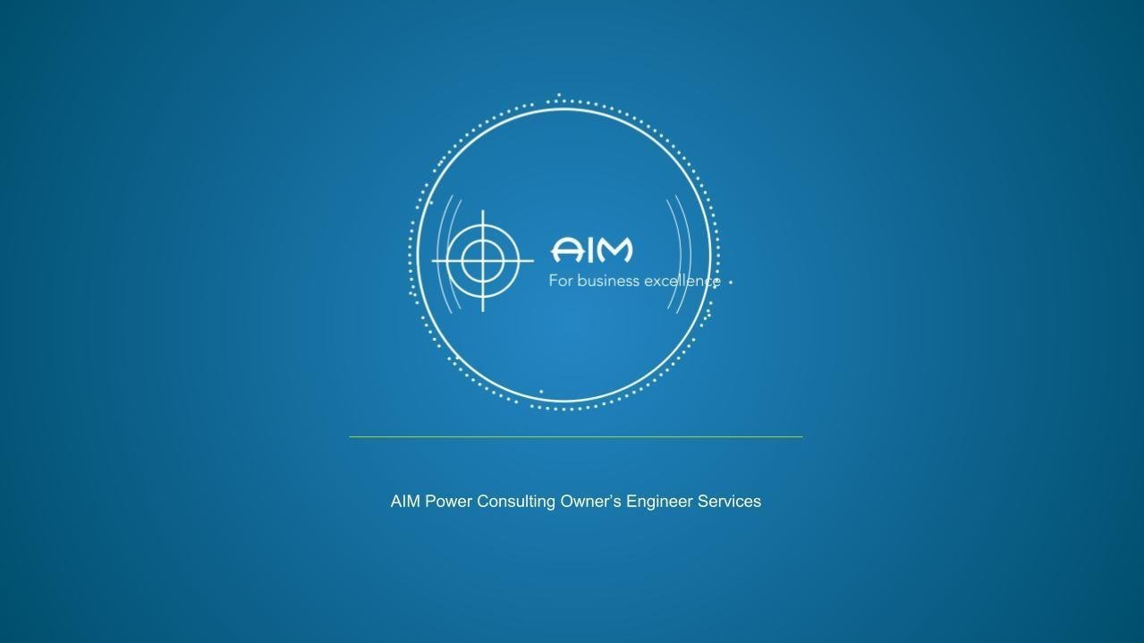 AIM Power Consulting Logo - owner's engineer